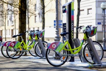Bicicletas de autoservicio SMOOVE IPM terminales digitales