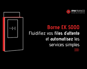 Borne de distribution de cartes EK5000