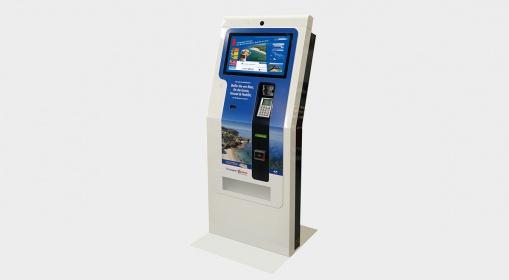 Borne interactive de billettique Oceane