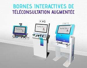 Borne interactive de téléconsultation-disopsitifs médicaux connectés_IPM France
