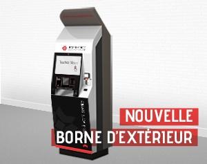 Borne interactive d'exterieur EK 8000_IPM France