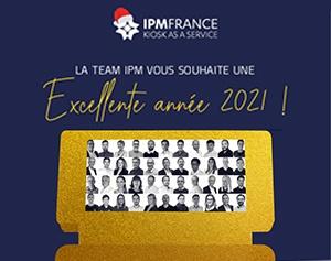Carte de voeux IPM France 2021