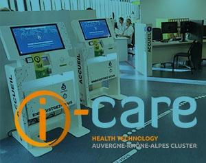 IPM France-cluster iCare, borne admission patient