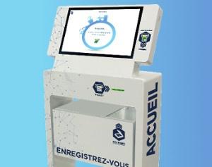 Imagen médica los kioscos interactivos de IPM France