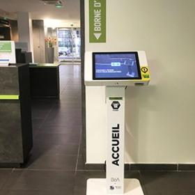 Kiosco de información-IPM France