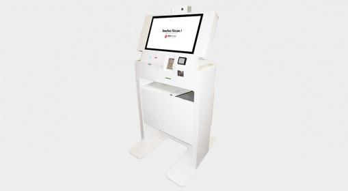 Kiosco interactivo multiservicio EK4000_IPM France