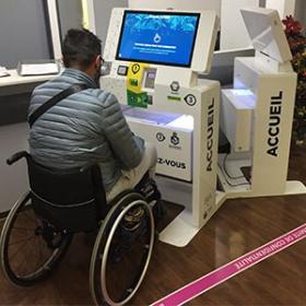 Kiosco interactivo multiservicio-IPM France