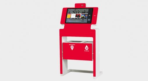 Kiosco interactivo multiservicio