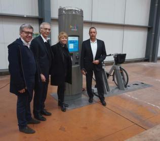 Kiosco interactivo velib IPM France