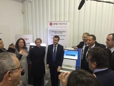 Ministro de Economía, Industria y Tecnología Digital, Emmanuel Macron