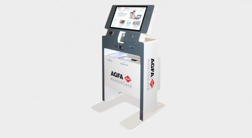 Payment kiosk AGFA Healthcare