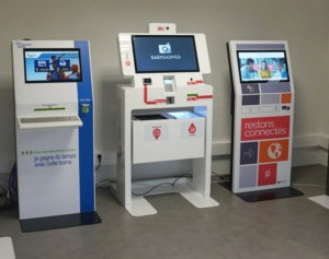 Showroom IPM France - bornes interactives