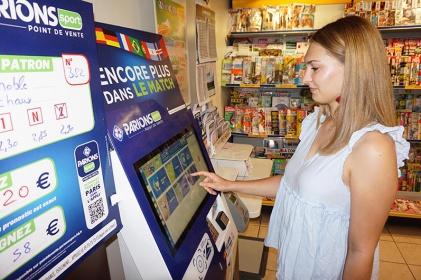 Terminal de juegos y apuestas deportivas FDJ IPM France