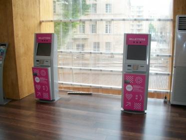 Ticketing kiosk Marseille
