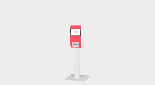 Touchscreen identification kiosk EK1000-IPM France