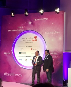 Trophees de l'innovation Bref eco-IPM France laureat