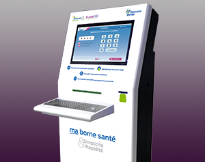 borne-interactive - consultation-impression-carte vitale