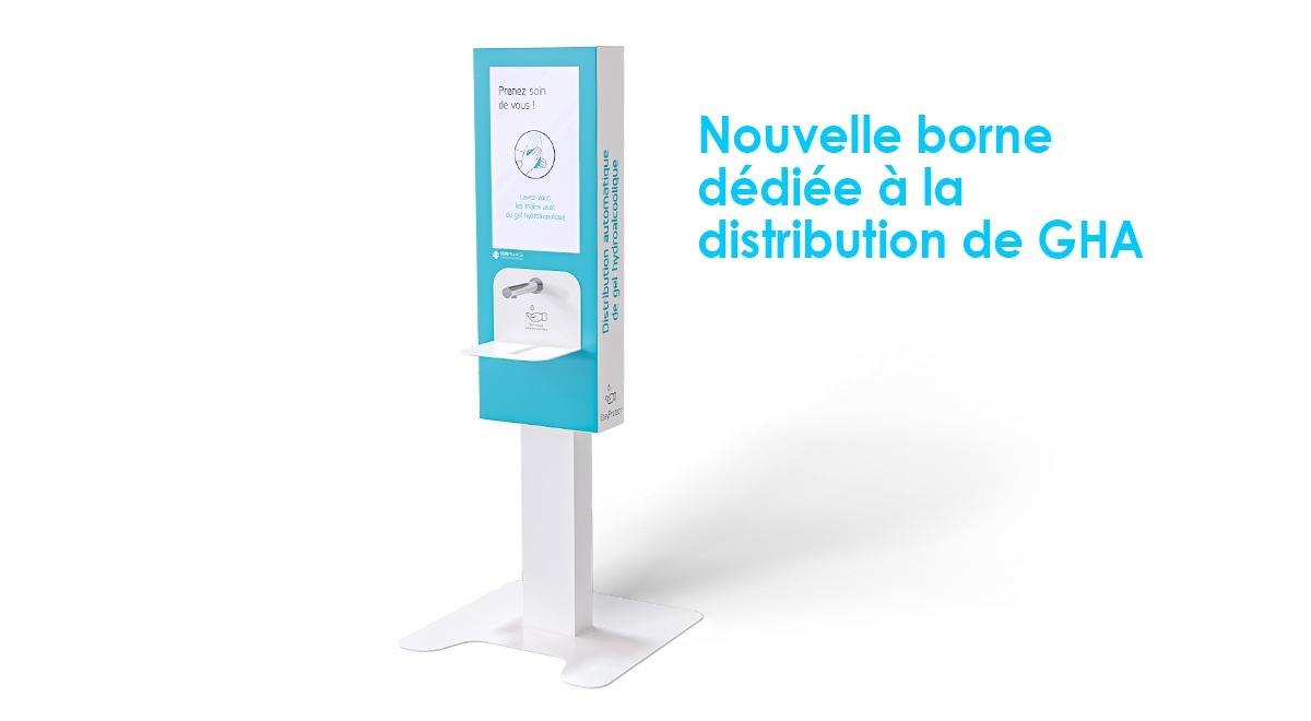 Borne distribution gel hydroalcoolique_EasyProtect