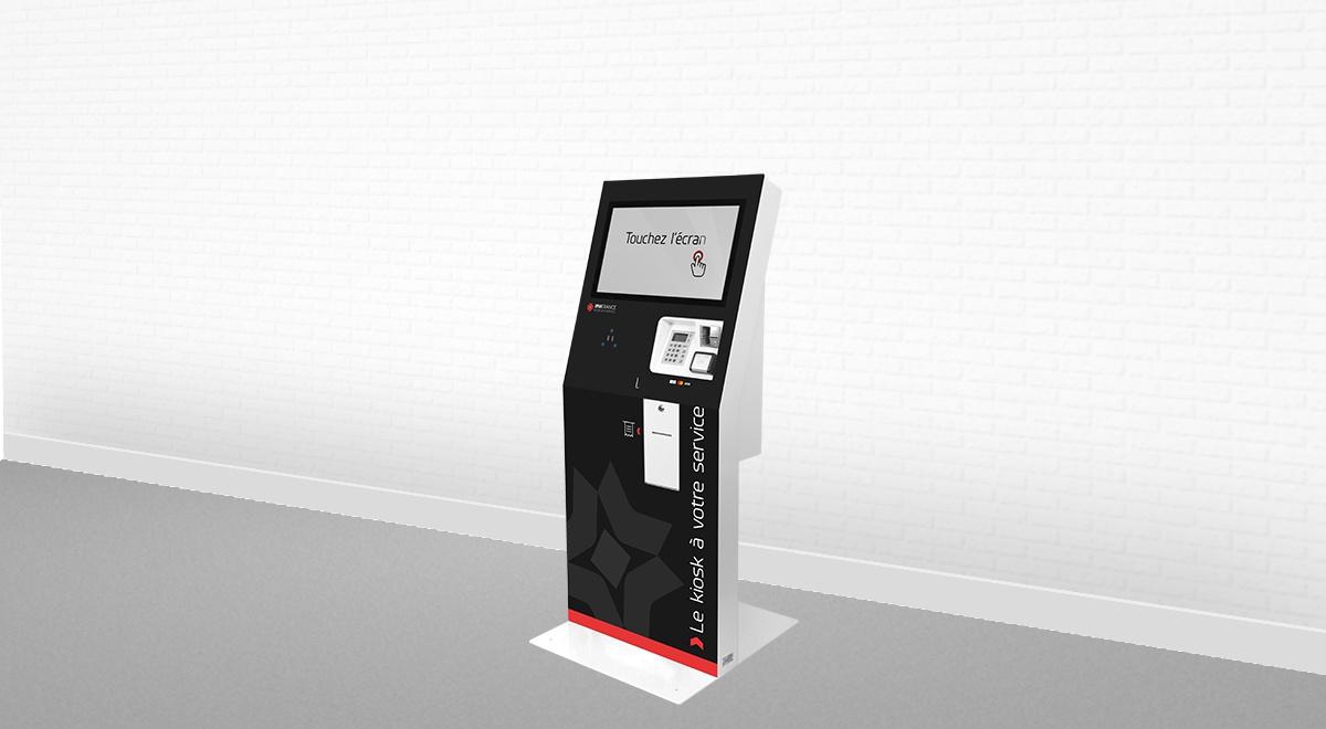 Borne interactive paiement-EK3000-IPM France
