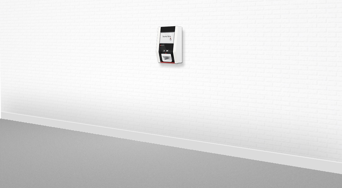 Borne interactive pointage-identification-EK1000-IPM France
