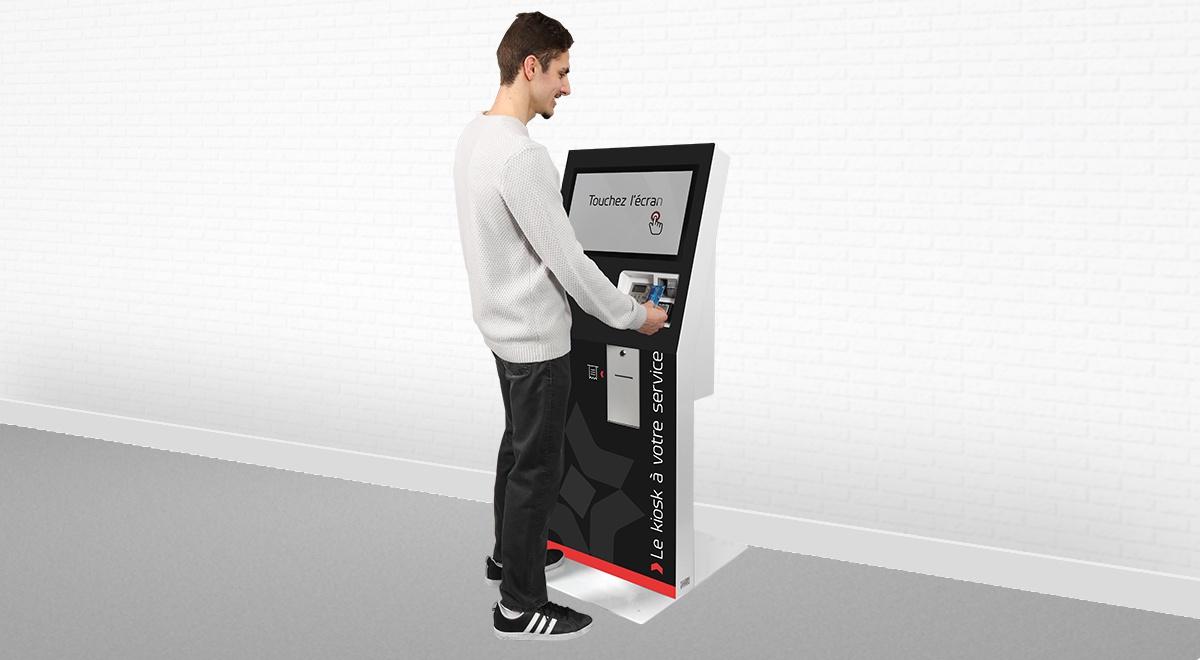 Borne tactile de paiement-EK3000-IPM France