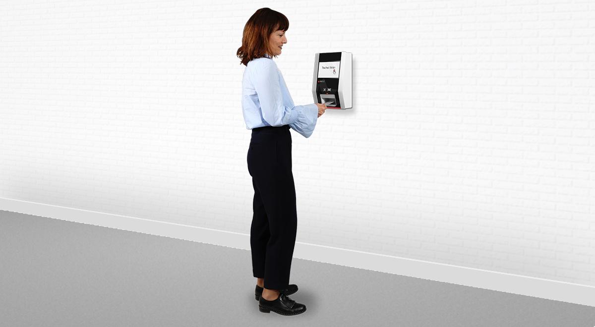 Borne tactile de pointage et identification-EK1000-IPM France