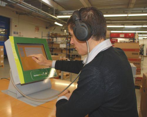E-learning kiosk