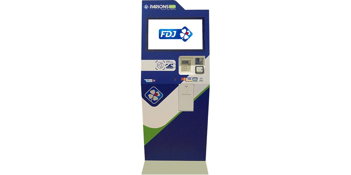 Gaming kiosk FDJ