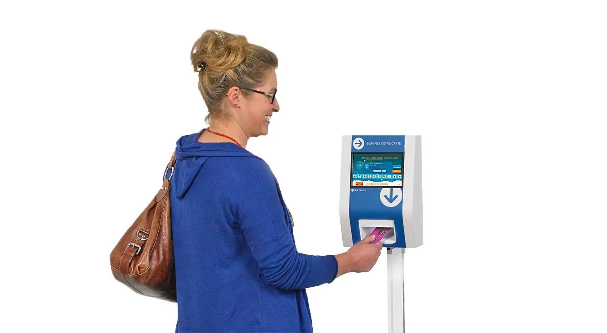 Identification kiosk