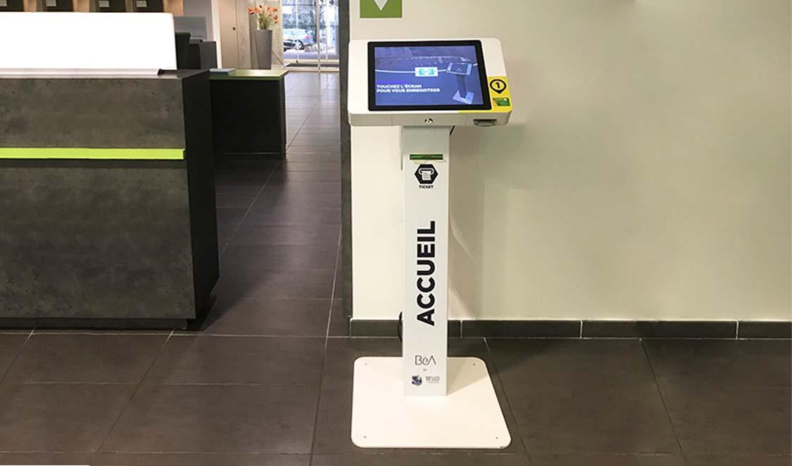 Kiosco de información-wiis-IPM France