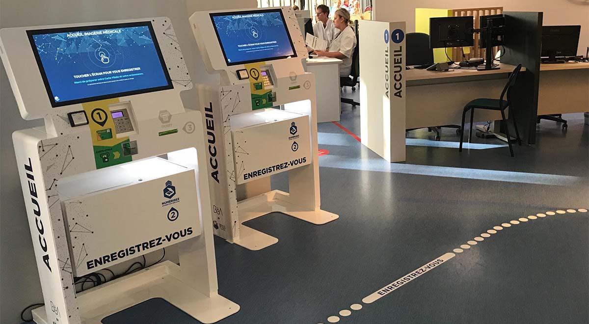 Multi-service interactive kiosk Wiis-IPM France