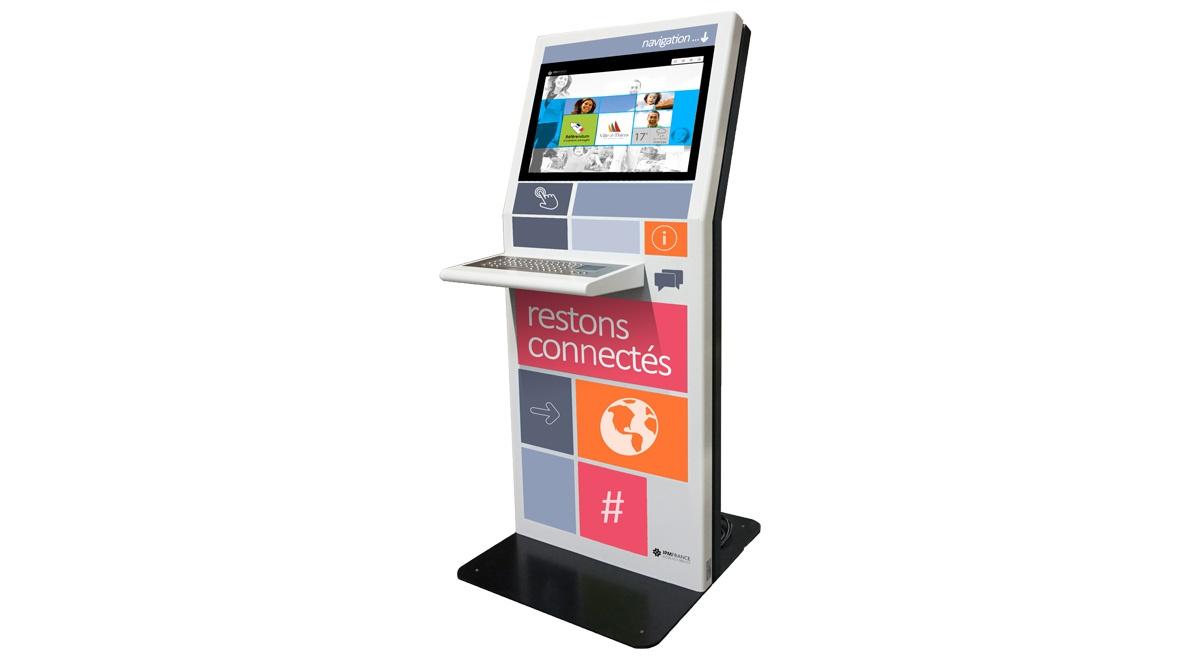 Online public kiosk