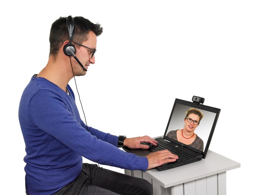 PC-agent-borne-interactive-visioconference