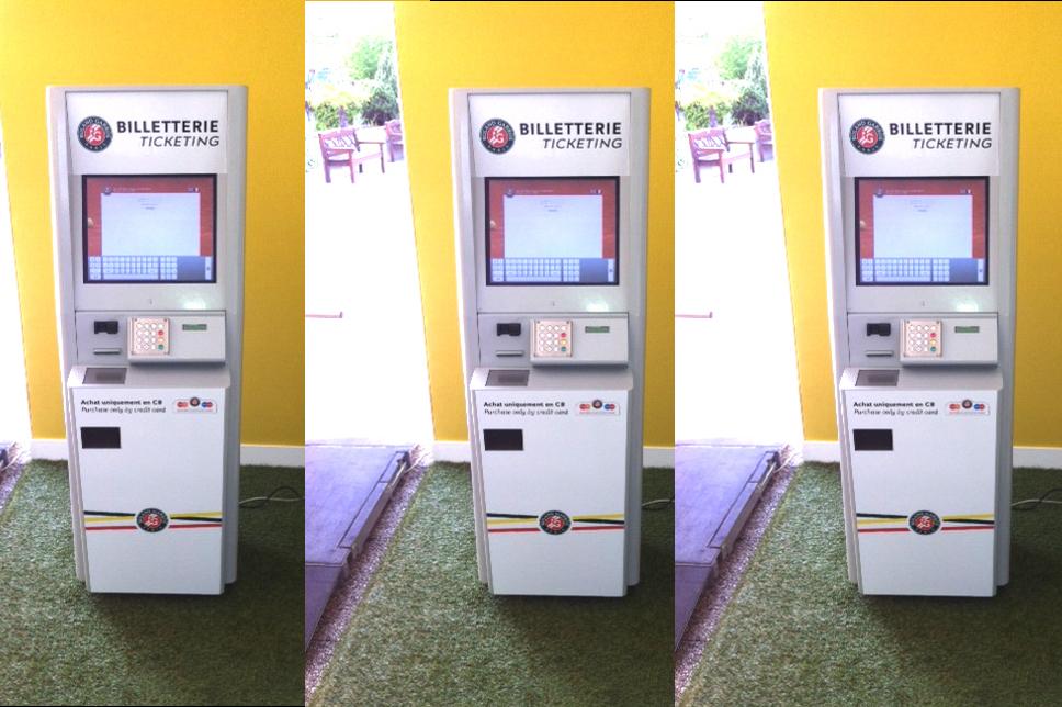 Terminal táctil de impresión de tickets ticketing FFT