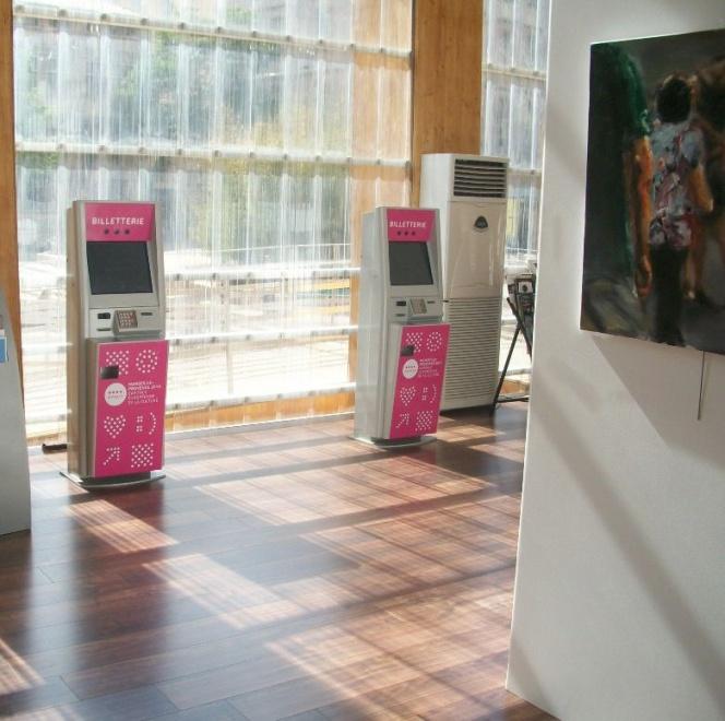 Ticketing interactive kiosk Marseille