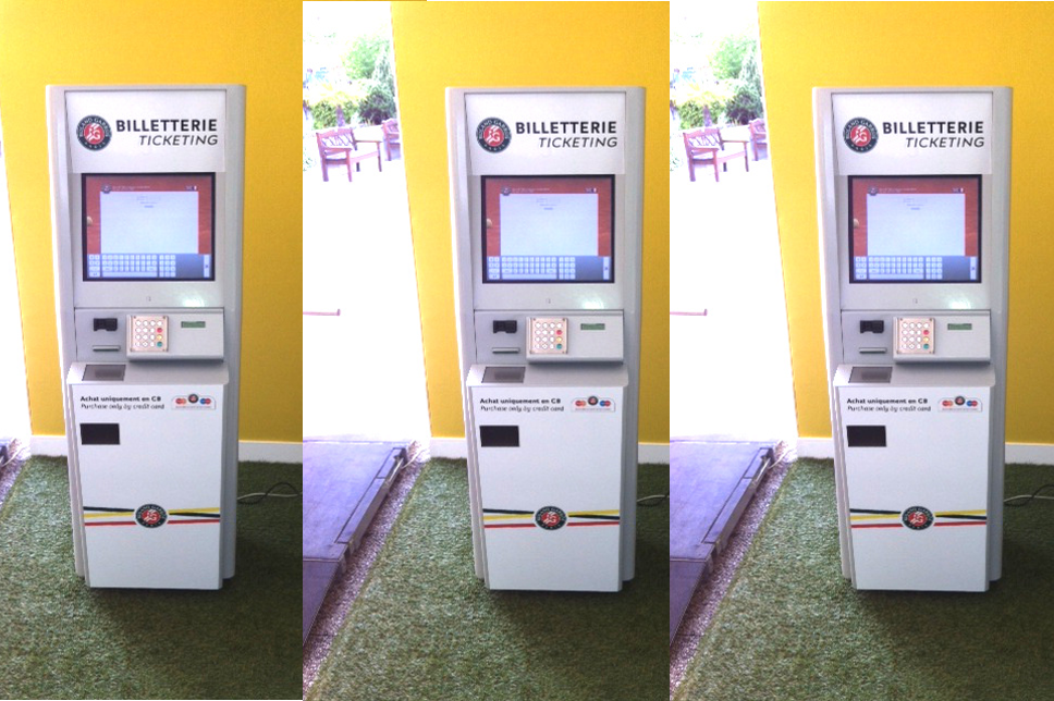 Ticketing kiosk FFT