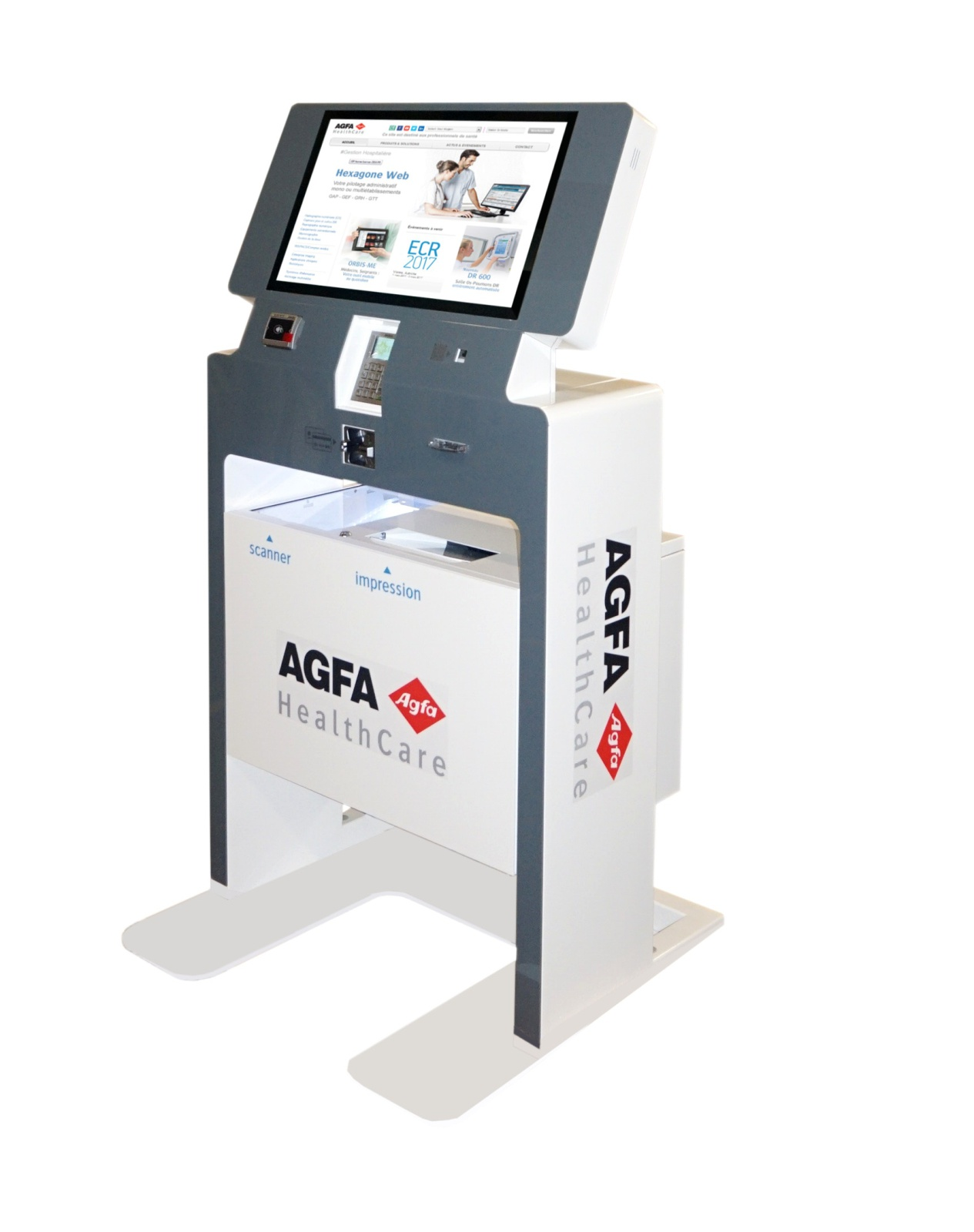 Agfa Healhcare : EasyKiosk solution Ipm France