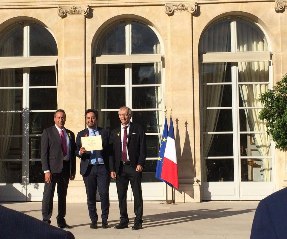 IPM France reçoit le Pass French tech à l'Elysée