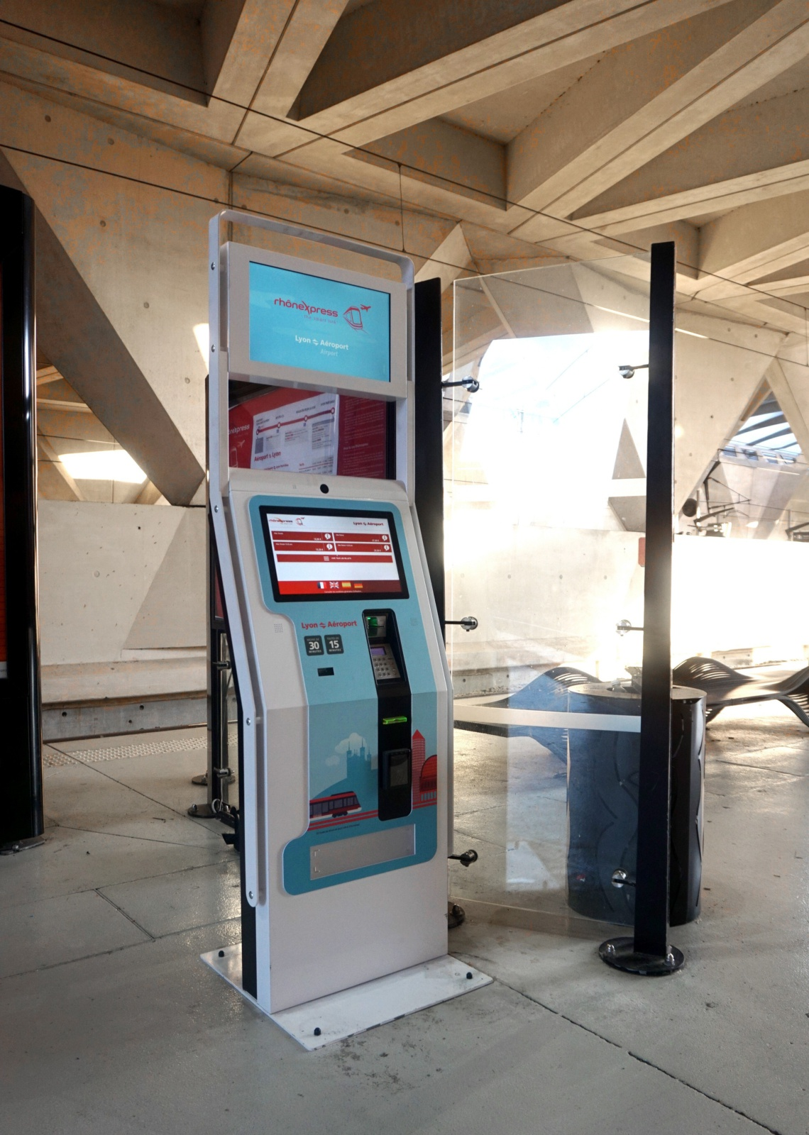 terminales táctiles IPM France
