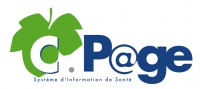 Logo CPAGE borne interactive santé