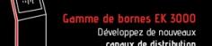 Gamme de bornes interactives EK3000