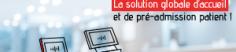 solution bornes interactives santé-accueil pré-admission patient