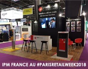 Stand IPM Paris Retail Week