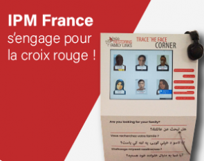 borne interactive Croix rouge-trace the face