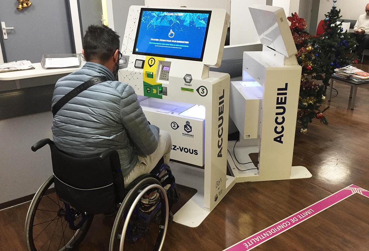 Kiosco de pago de salud