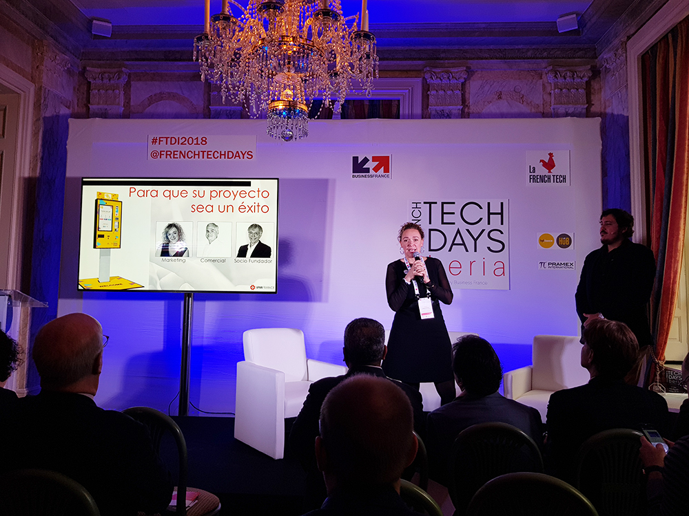 IPM France-french tech days Iberia-bornes interactives