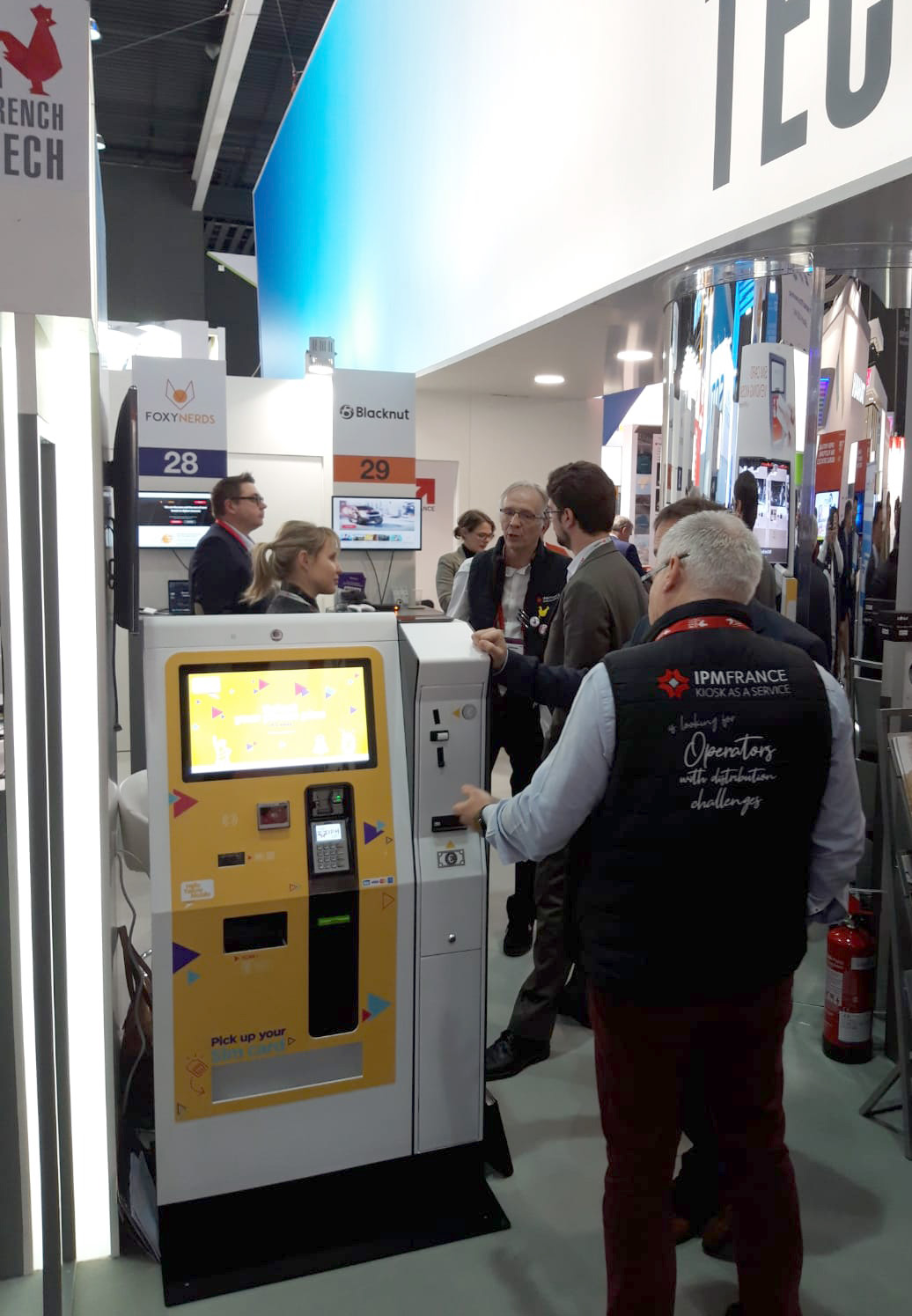 IPM France MWC19 French tech area3