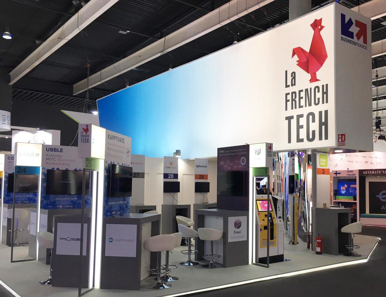 MWC19-French Tech Area-IPM France-sim card vending kiosk