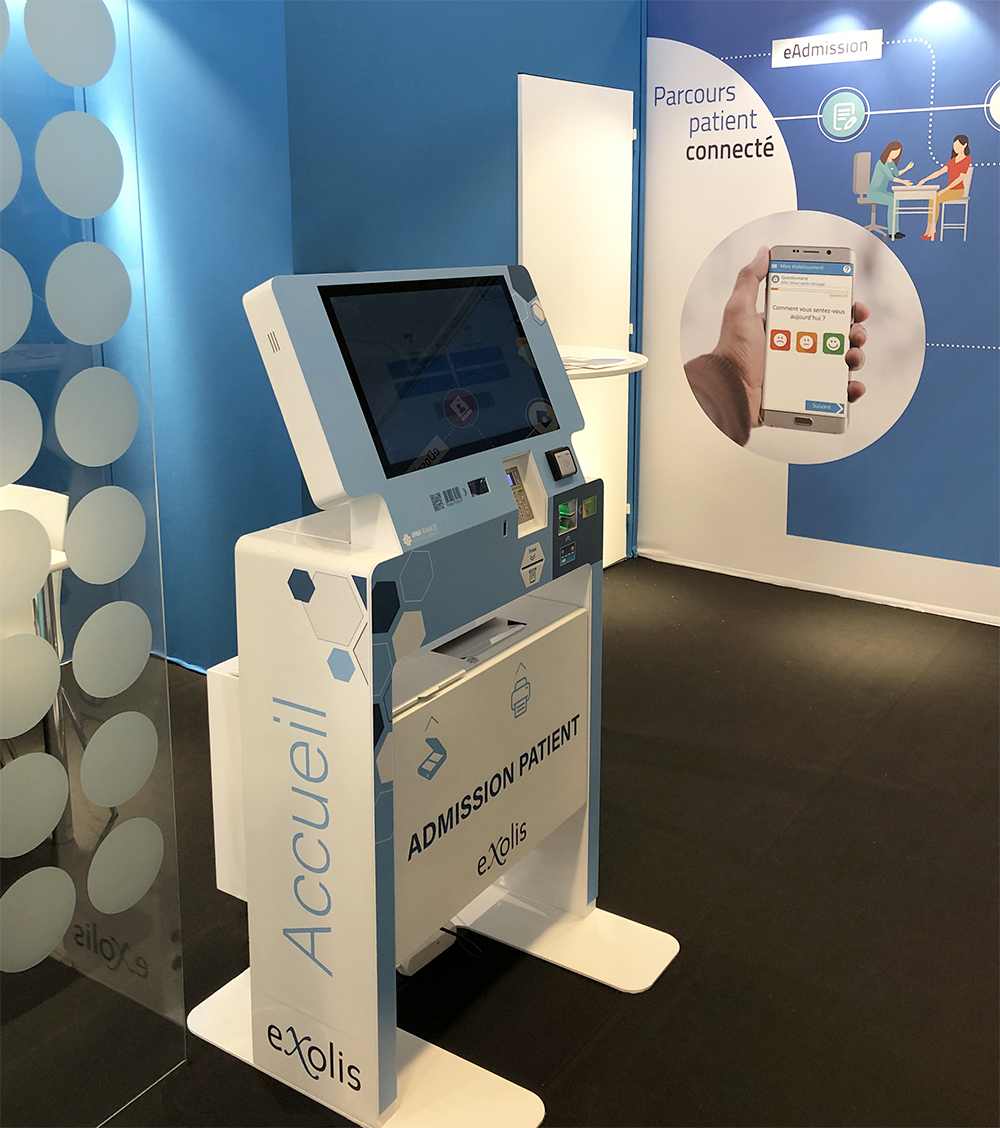 Exolis interactive kiosk-HIT trade show 2019