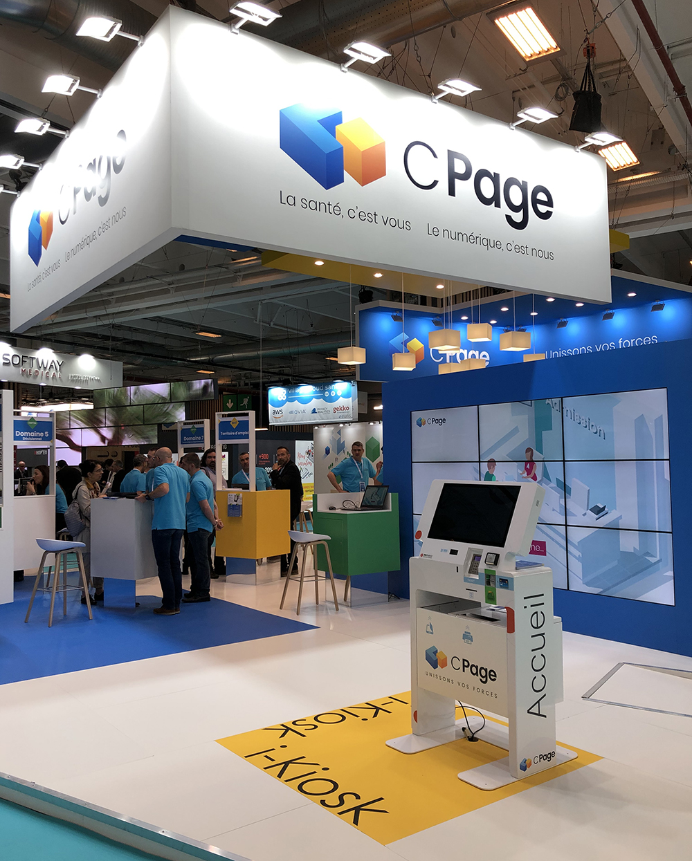 admission kiosk-CPage-HIT trade show 2019